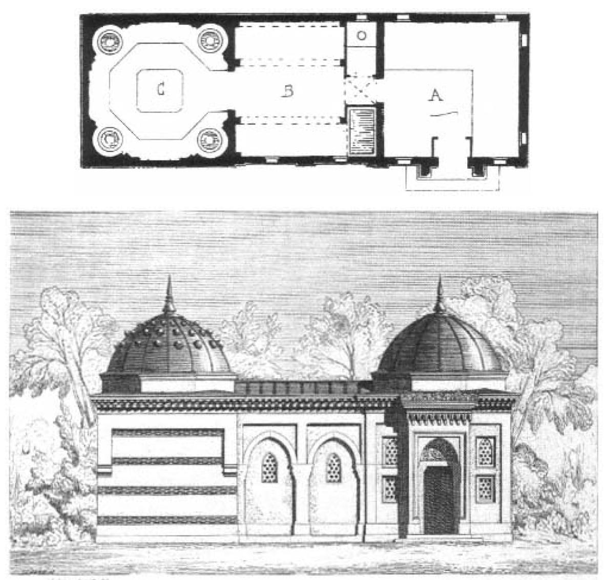 1867 Paris Fuarında Osmanlı Pavyonunda Sergilnen Hamam