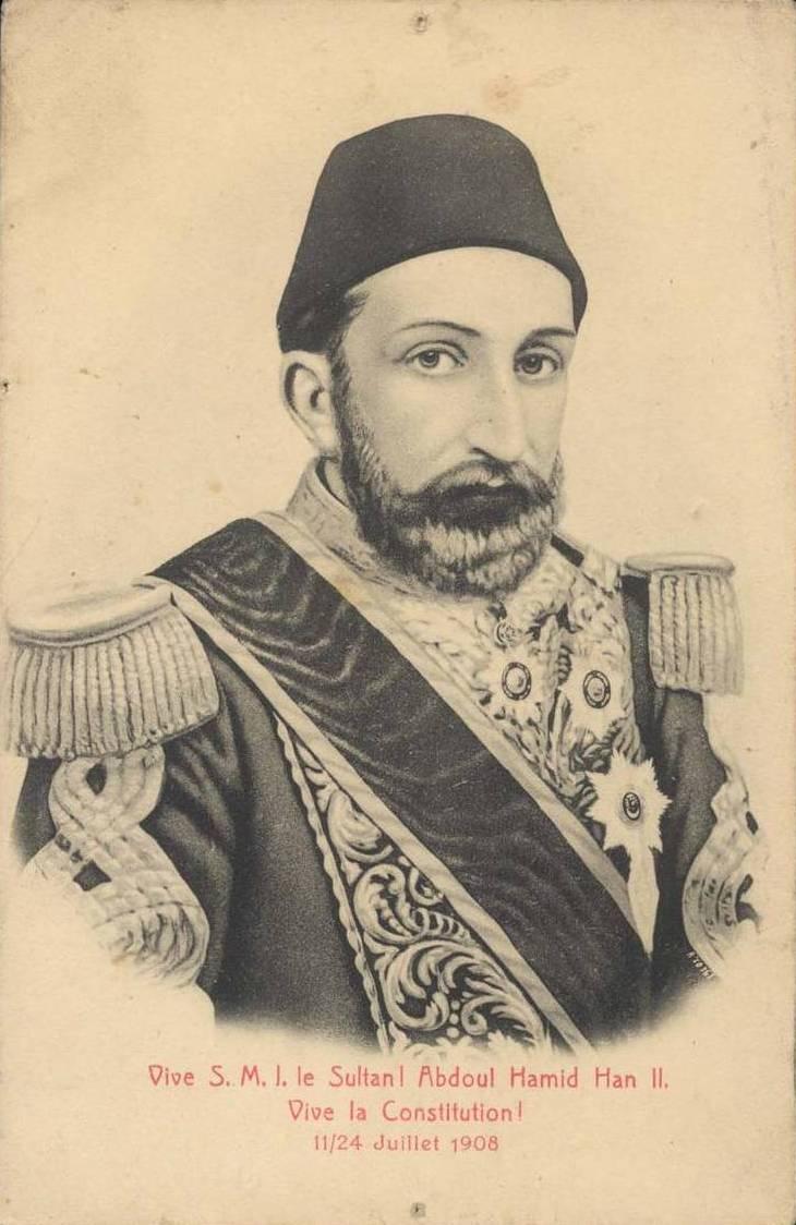 Almanya Kayzeri Ziyareti İkinci Sultan Abdülhamid Hanı Memnun Etmiş. Alman İmparatoru II. Wilhelm'den Osmanlı Devleti Sultan Abdul Hamid Dost Ziyareti