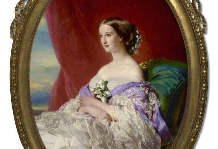 Eugenie Fransa İmparatoriçesi Eugénie De Montijo Osmanlı Padişahı Sultan Abdülaziz