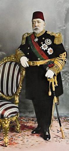 Osmanlı Padişahı, Sultan 5. Mehmed Reşad Kimdir. Ottoman Empire Ottomano Sultano, Padishah, İmperial Of Ottomane Mehmet Reşat