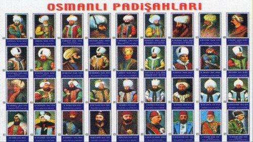 Osmanlı Padişahları Listesi, Toplu Osmanlı Padişahları Resimleri, Sarayı Müzikleri, Ottoman Empire Palace Music