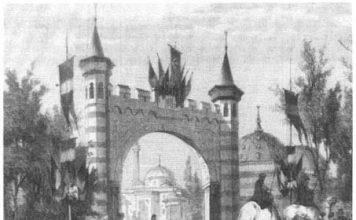 Osmanlı Standı Sultan Abdülaziz Paris 1867