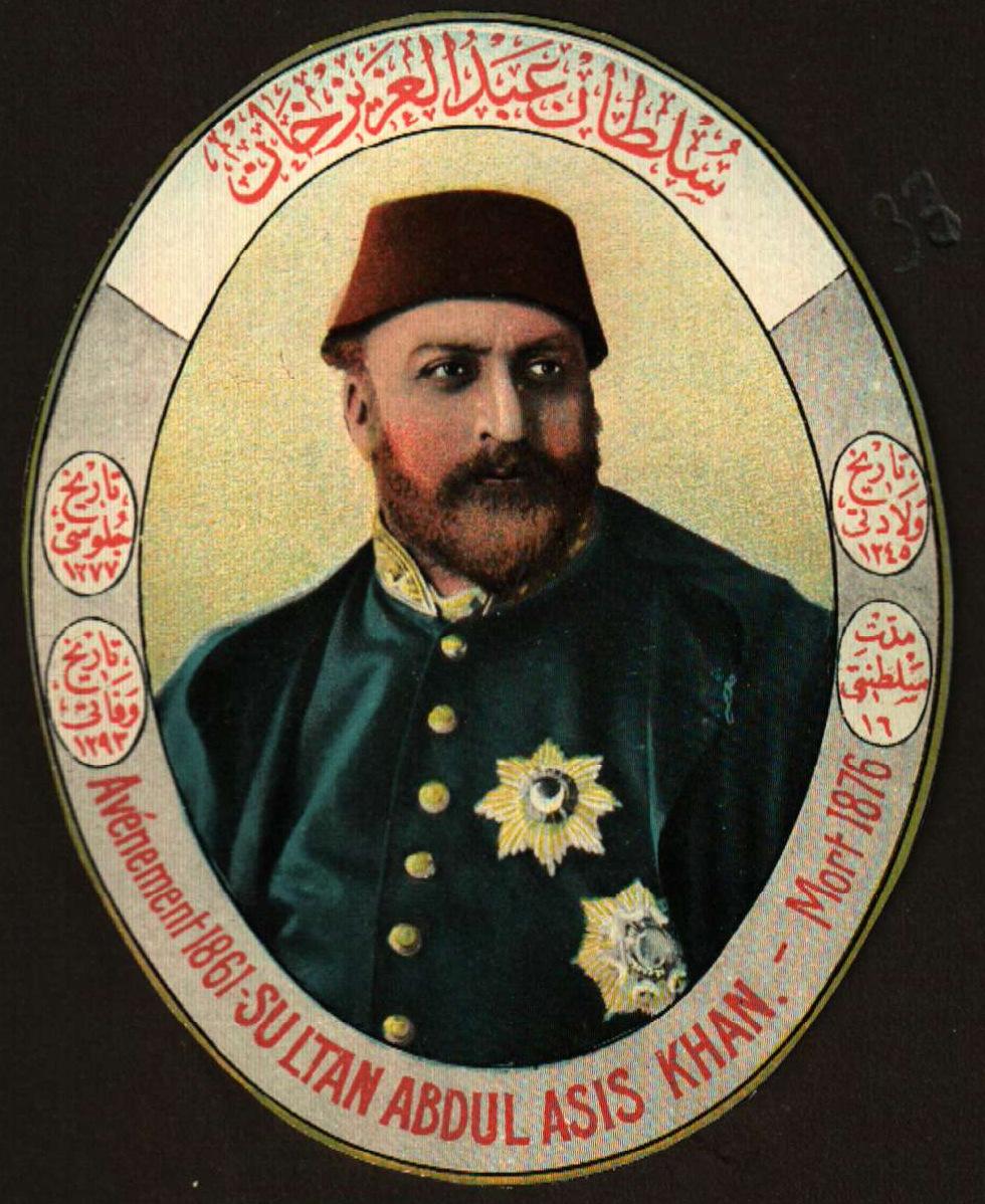 Osmanlı Sultanı Padişah Abdülaziz Dönem Kronolojisi Abdulaziz Han 1861 1876 15 Yıl Musiki Ve Sanat Ile İlgisi