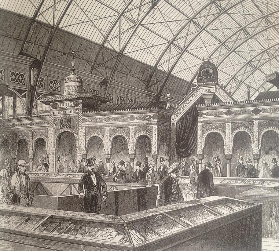 Paris Sergisinde Osmanlı Devleti 1855 1