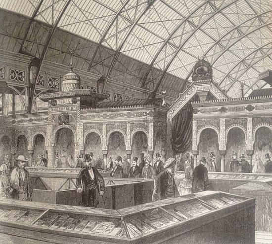Paris Sergisinde Osmanlı Devleti 1855