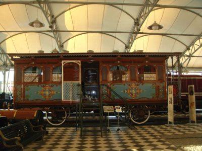 Paris Seyahatinde Kullanlan Saltanat Vagonu Rahmi Koç Müzesi Sultan Abdülaziz