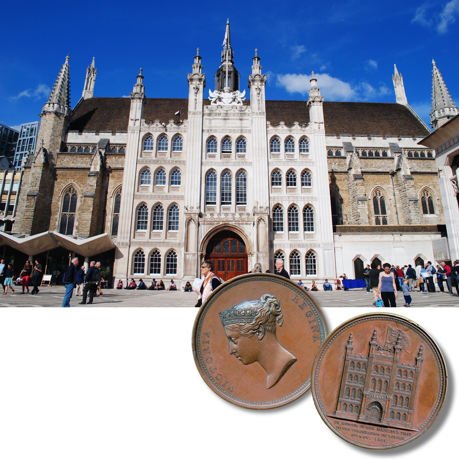Sultan Abdülaziz'in Londra'yı Ziyaretinde Konuk Edildiği Londra Şehir Meclisi Guildhall