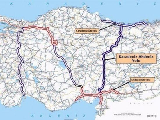 Sultan Abdülhamit ve Abdulaziz'in Karadeniz-Akdeniz Yolu Tasarısı Hayali Gerçek Oluyor