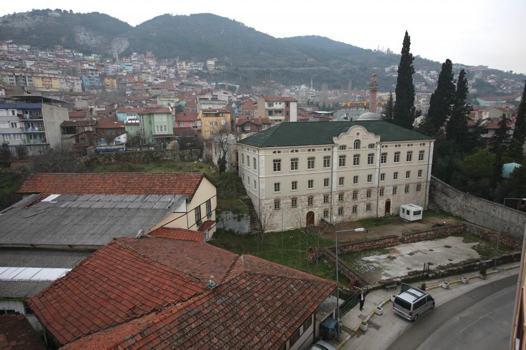 Bursa Fabrika I Hümayun Moda Yüksek Okulu . Eski Hali. Resterasyon Sonrası. Bursa Belediyesi