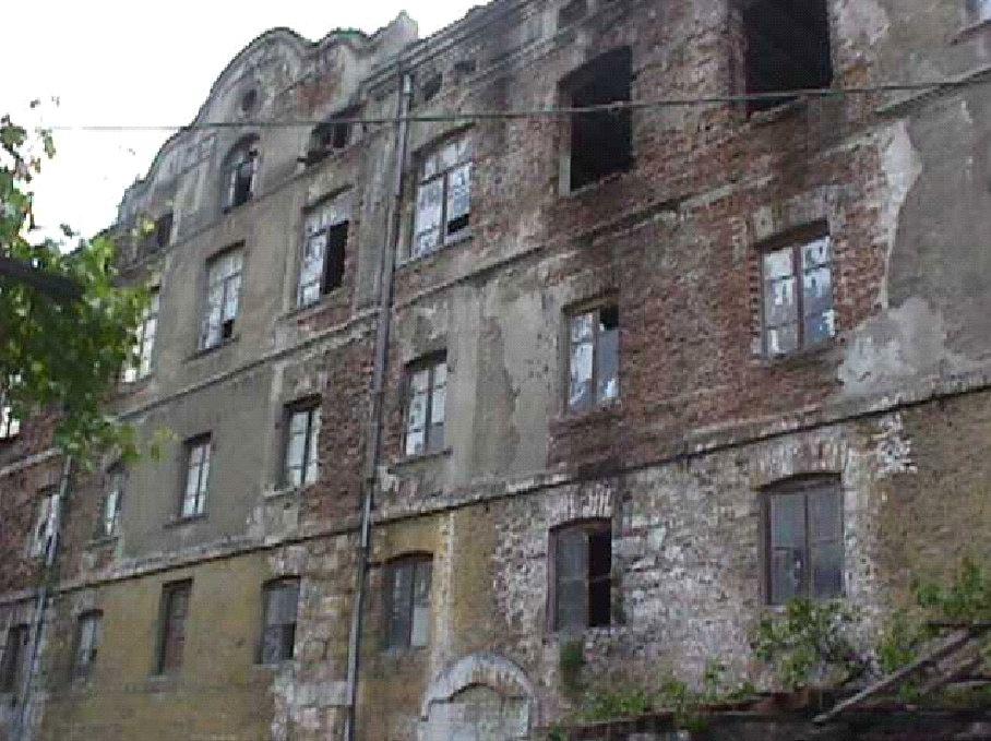 Bursa Fabrika I Hümayun Moda Yüksek Okulu . Eski Hali. Resterasyondan önceki. Bursa Belediyesi