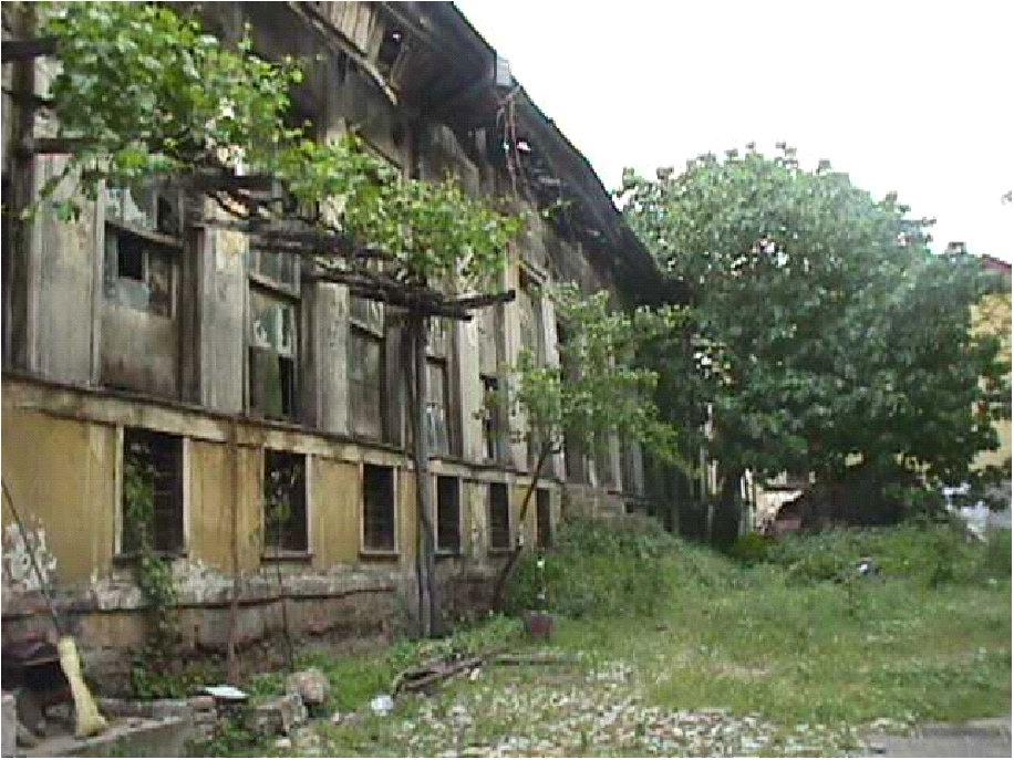 Bursa Fabrika I Hümayun Moda Okulu Oluyor. Eski Hali. Resterasyondan önceki Foto. Bursa Belediyesi