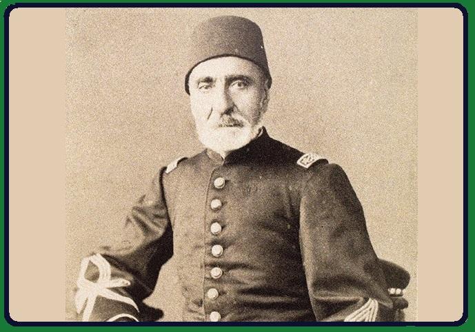 NECİP AHMET PAŞA Yesârîzâde Muzıkayi Hümâyun Askeri Saray Bandosu Yöneticisi Bestekâr Ve Nota Koleksiyoncusu