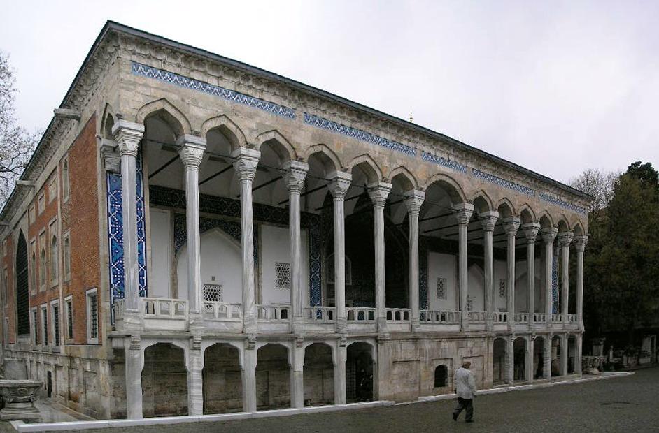 Z Çinili Köşk Topkapı Sarayının Dış Surlarının Içinde Yer Alan 1472 Yılından Kalma Bir Köşktür. Osmanlı Sultanı 2. Mehmed Tarafından Yazlık Saray Köşk Olarak Yaptırılmıştır.Çinili Kösk Estambul