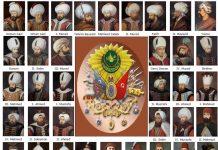 Osmanlı Imparatorluğu Hanedan Padişahları Şeceresi Osmanlı Devleti Sultanları Aile Soy Ağacı Osmanlı Padişahları Resimli Soyağacı 1