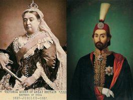 Osmanlının İrlandaya YardımıSultan Abdülmecid. Ingiltere Kralicesi Ve Sultan Abdulmecid
