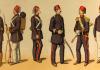 Tanzîmât Devri Sultan Abdülmecid Ve Sultan Abdülaziz Dönemleri Askerî Kıyâfetleri. Mahmut Şevket Paşa Osmanlı Teşkîlât Ve Kıyâfet I Askeriyesi