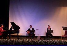 """Genç Piyanist Güneş Yakartepe """"MUHAYER KÜRDİ SAZ SEMAİSİ"""" Sadi Işılay Eserini Kuyruklu Piyano ile çaldı."""